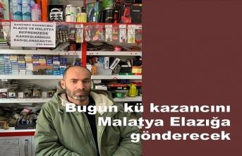 Ali Rambo bugünkü alışverişini Elazığ Malatya depremzadelere bağışlayacak