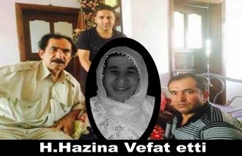 H.Hazina Vefat etti