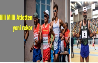 İdilli Milli Atlet İmük'tan rekor