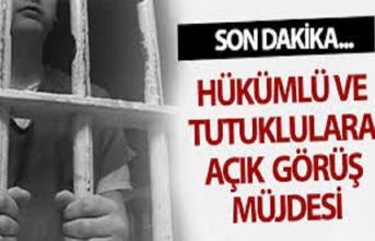 8 Mart'ta kadın tutuklulara açık görüş izni