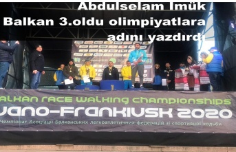 Milli Atlet İmük Balkan 3. oldu