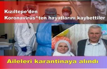 Kızıltepe'de Karı koca birkaç saat arayla hayatlarını kaybettiler