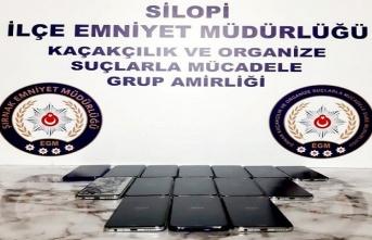 Silopi'de kaçakçılık operasyonu: 24 gözaltı