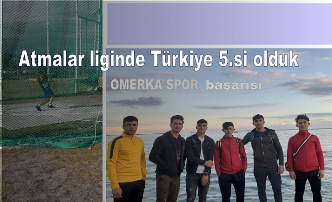 Atmalar liginde Türkiye 5.si olduk