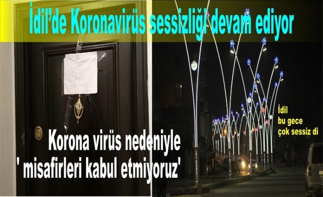 Koronavirüs nedeniyle ' misafirleri kabul etmiyoruz'