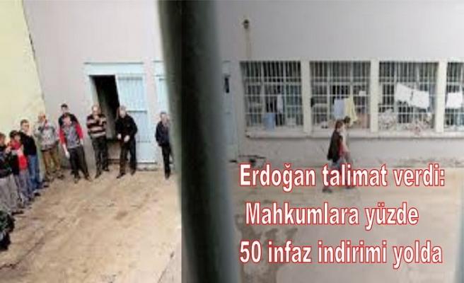 Mahkumlara yüzde 50 infaz indirimi yolda
