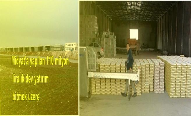 Midyat'a yapılan 110 milyon liralık dev yatırım bitmek üzere