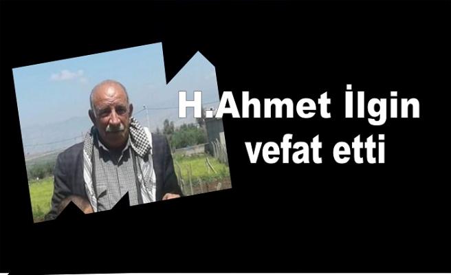 H. Ahmet vefat etti