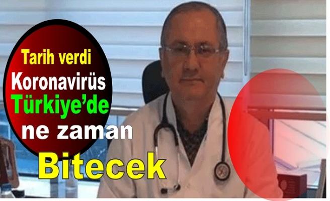 Prof. Dr. Servet Kayhan tarih verdi koronavirüs Türkiye'de ne zaman bitecek?