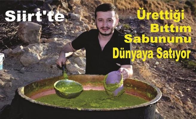 Siirt'te Ürettiği Bıttım Sabununu Dünyaya Satıyor