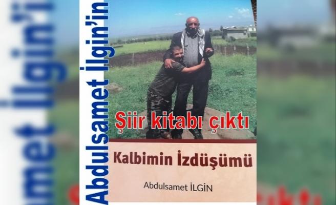 Abdulsamet İlgin'in şiir kitabı çıktı