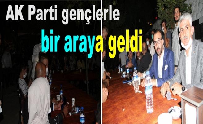 AK Parti gençlerle bir araya geldi