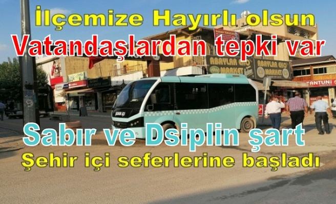 Vatandaşlar şehir içi ulaşımı kullanalım…Disiplin ve sabır şart