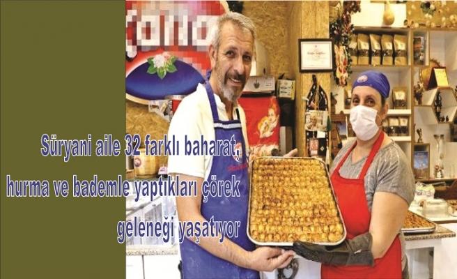 2 bin yıllık Süryani çöreği geleneğini yaşatıyorlar