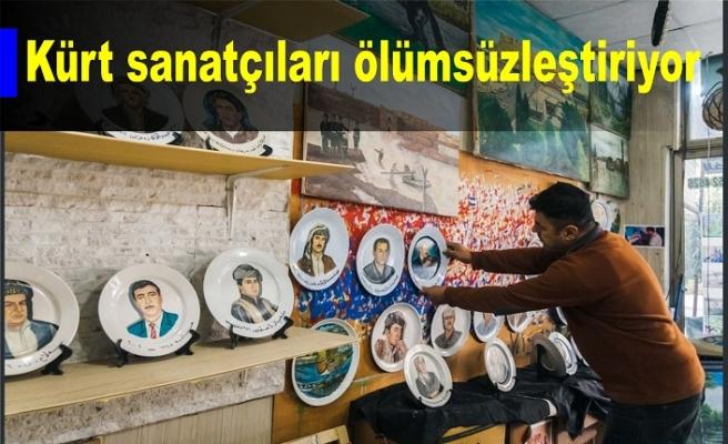 Kürt sanatçıları ölümsüzleştiriyor