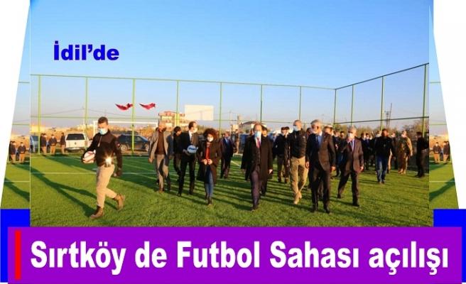 Sırtköy de Futbol Sahası açılışı