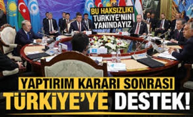 Türk Konseyi'nden ABD'nin Türkiye'ye yaptırım kararına tepki! Yanındayız