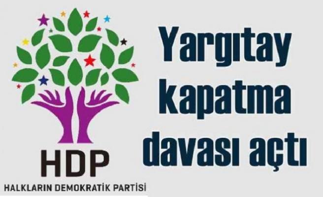 HDP'ye kapatma davası açıldı