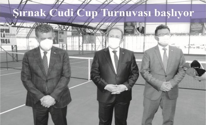 Şırnak Cudi Cup Turnuvası başlıyor