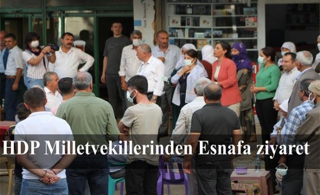 HDP Milletvekillerinden İdil'e ziyaret