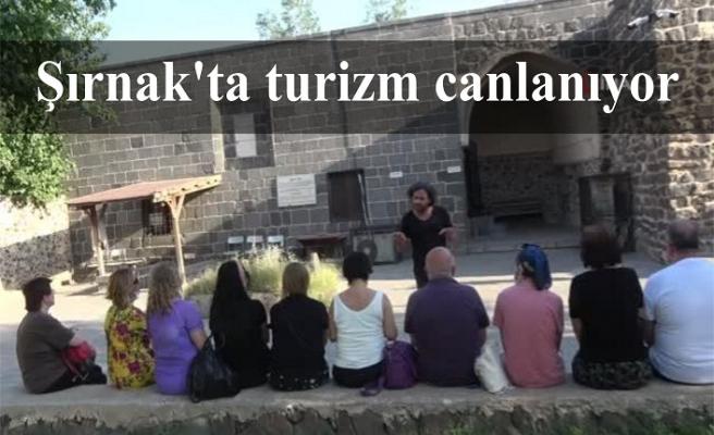 Şırnak'a Turistlerin ilgisi giderek artıyor