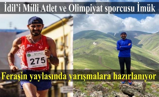 Milli Atlet Abduselam İmük Feraşin yaylasında yarışmalara hazırlanıyor