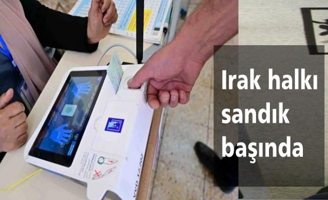 Irak'ta erken seçim: Oylama başladı