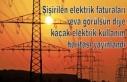 Şişirilen elektrik faturaları reva görülsün...