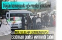 Düğün konvoyunda göçmenler yakalandı