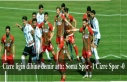 Cizre ligin dibine demir attı: Soma Spor -1 Cizre...