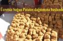 Ücretsiz Soğan Patates dağıtımına başlandı