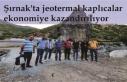 Şırnak'ta jeotermal kaplıcalar ekonomiye kazandırılıyor