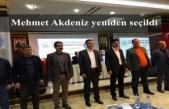 Mehmet Akdeniz yeniden seçildi