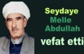 Melle Abdurrahman Aksoy vefat etti
