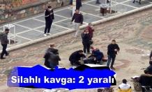 Akrabalar arasında çıkan silahlı kavgada kan aktı: 2 kişi yaralandı