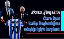 Ekrem Şimşek'in Cizre spor Kulüp Başkanlığına adaylığı ilgiyle karşılandı