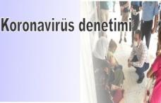 Koronavirüs denetimi