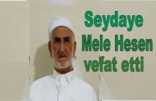 Mele Hesen Çetin vefat etti