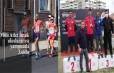Milli Atlet İmük uluslararası yarışmada 3.oldu