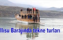 Ilısu Barajında Tekne turlarına ilgi