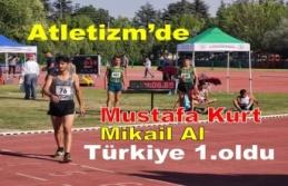 Mikail Al Türkiye 1.oldu