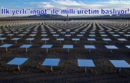 Türkiye enerjide atağa geçti: İlk yerli 'ingot' ile milli üretim başlıyor!