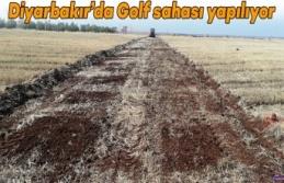 Diyarbakır'da Golf sahası yapılıyor