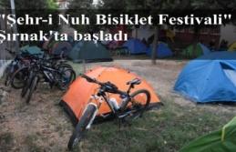 """""""Şehr-i Nuh Bisiklet Festivali"""" Şırnak'ta başladı"""