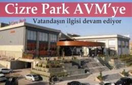 Cizre Park AVM'ye vatandaşdan İlgi