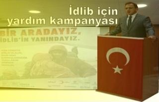 İdlibiçin yardım kampanyası