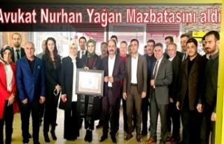 Nurhan Avukat Mazbatasını aldı