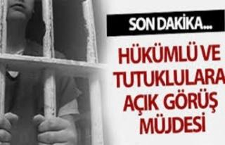 8 Mart'ta kadın tutuklulara açık görüş...
