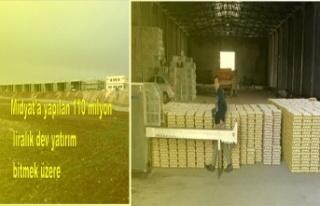 Midyat'a yapılan 110 milyon liralık dev yatırım...