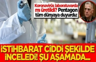Koronavirüs laboratuvarda mı üretildi? Pentagon...